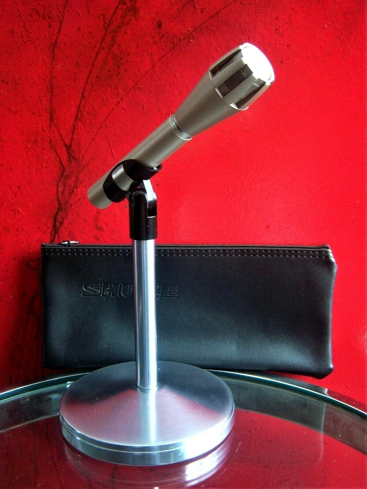 Vintage 1970's Shure SM-60 dynamic microphone old w accessories EV 635A   3