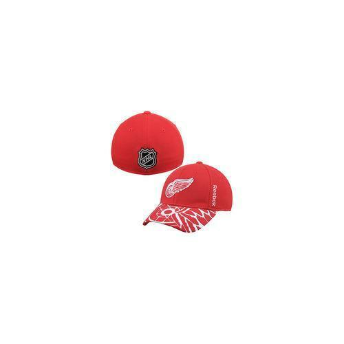 save off 22a55 b951e ... cheapest 24 reebok detroit red wings youth red 2015 nhl draft  structured flex hat red 58776