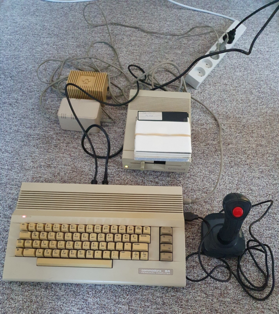 Commodore 64C, spillekonsol, Ready-to-use Commodore 64…