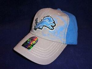 attractive price many styles look good shoes sale HTF New Licensed Detroit Lions '47 Brand Fitted Hat Size M Blue ...