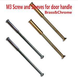 For Door Handle Knob// Rose Connecting Screws M3 Back to Back// Male to Female