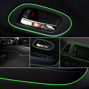 Green-5m-Point-Edge-Gap-Line-Auto-Car-Interior-Accessories-Molding-Decal-FO