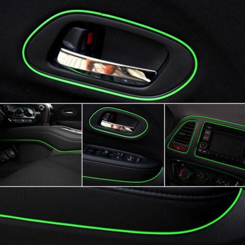 Green 5m Point Edge Gap Line Auto Car Interior Accessories Molding Decal