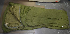 Used-Canadian-military-2-pieces-Cold-weather-arctic-sleeping-bag-store-S23