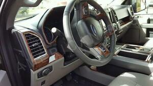 2017 Ford F 150 Interior >> Details About Ford F 150 F150 Crew Extended Cab Interior Wood Dash Trim Kit Set 2015 2016 2017