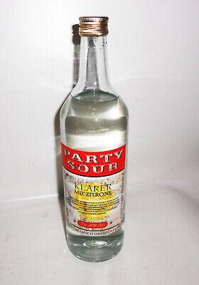 1 Ddr Flasche Party Sour Klarer Mit Zitrone Bramsch Dresden !