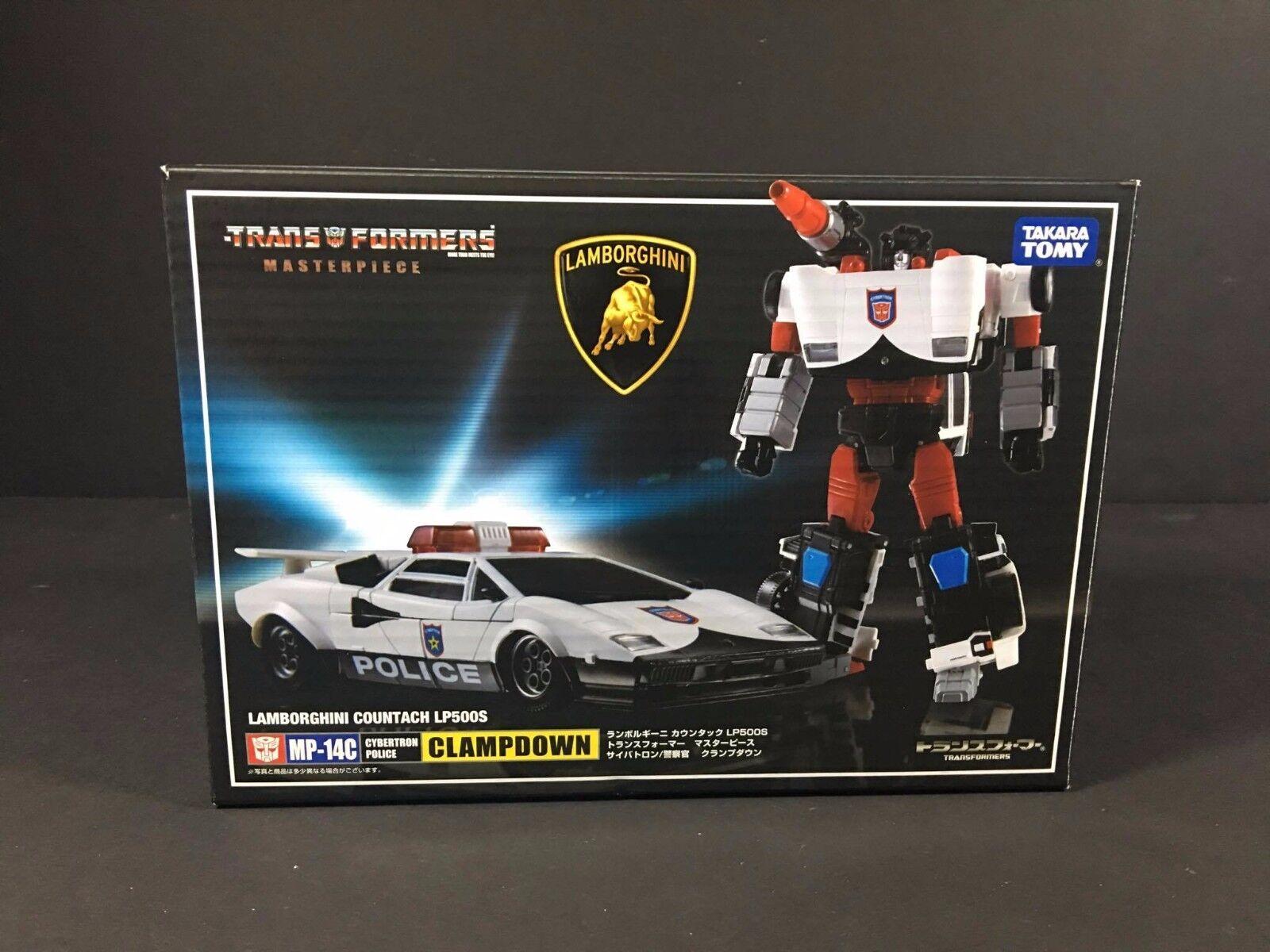 Transformers Masterpiece MP-14C Diaclone Lamborghini Countach Police &Coin X'mas