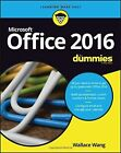Office 2016 For Dummies by Wallace Wang (Paperback, 2016)