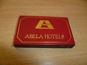 B10-POCHETTE-OU-BOITE-ALLUMETTES-PUBLICITAIRES-ABELA-HOTEL