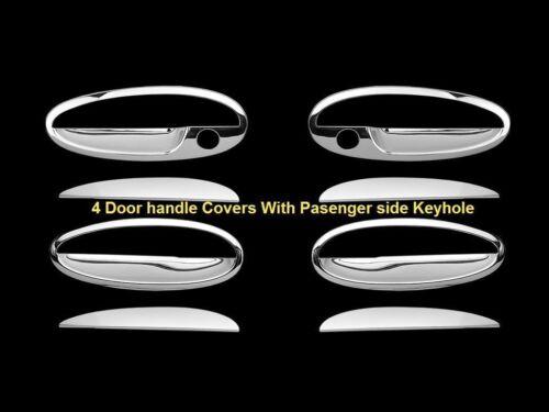 2000~05 Chevy Impala 00-03 Malibu 4 door Handle Chrome Covers w//kh Fits