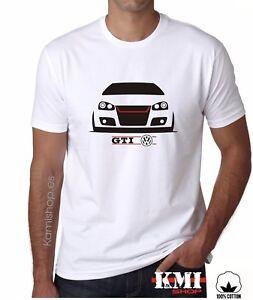 camiseta volkswagen vw golf mk5 gti t shirt calidad 100. Black Bedroom Furniture Sets. Home Design Ideas