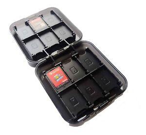 24-x-Nintendo-Switch-Black-Game-Card-Case-Holder-UK-Seller
