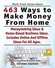 Work from Home Ideas. 463 Ways to Make Money from Home. Moneymaking Ideas & Home Based Business Ideas. Online and Offline Ideas for All Ages. by Christine Clayfield (Paperback / softback, 2015)