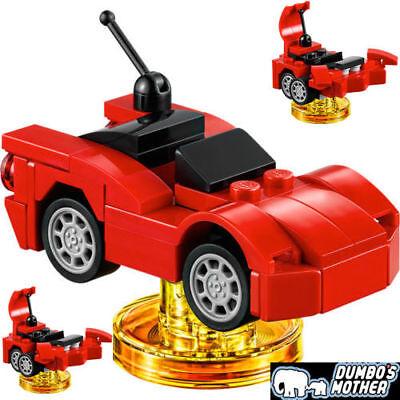 Racer New just Racer no minifigure gamedisc Lego Dimensions 71256 Gremlins R.C