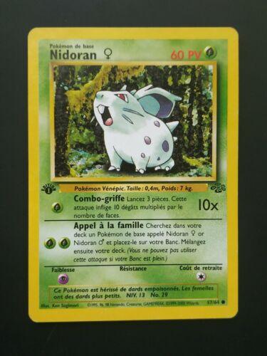 AU CHOIX Carte Pokémon Commune FR Très Bon Etat EDITION 1 Jungle Wizards