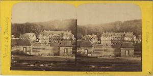 Chateau-de-Jonvilliers-France-Photo-Stereo-BK-Paris-Vintage-Albumine-ca-1870