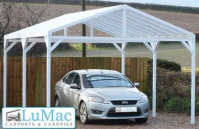 Garden Structures & Shade Free Standing Carport Boat Shelter Swimming Pool Hot Tub Cover Awning Super Car