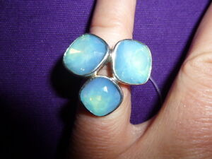 Damenring Ring Silber 925 er Swarovski Crystal Steine sehr hochwertig blau Gr 15 - <span itemprop=availableAtOrFrom>bei der Prinzessin, Deutschland</span> - Damenring Ring Silber 925 er Swarovski Crystal Steine sehr hochwertig blau Gr 15 - bei der Prinzessin, Deutschland