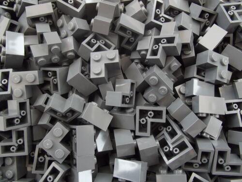 20 x Lego Nuevo 2 x 2 Oscuro Azulado Gris Esquina ladrillo Número De Pieza 2357