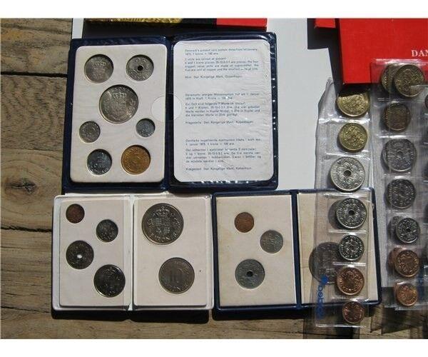Danmark, mønter, -