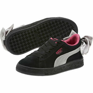 PUMA-Suede-Bow-AC-Little-Kids-039-Shoes-Girls-Shoe-Kids