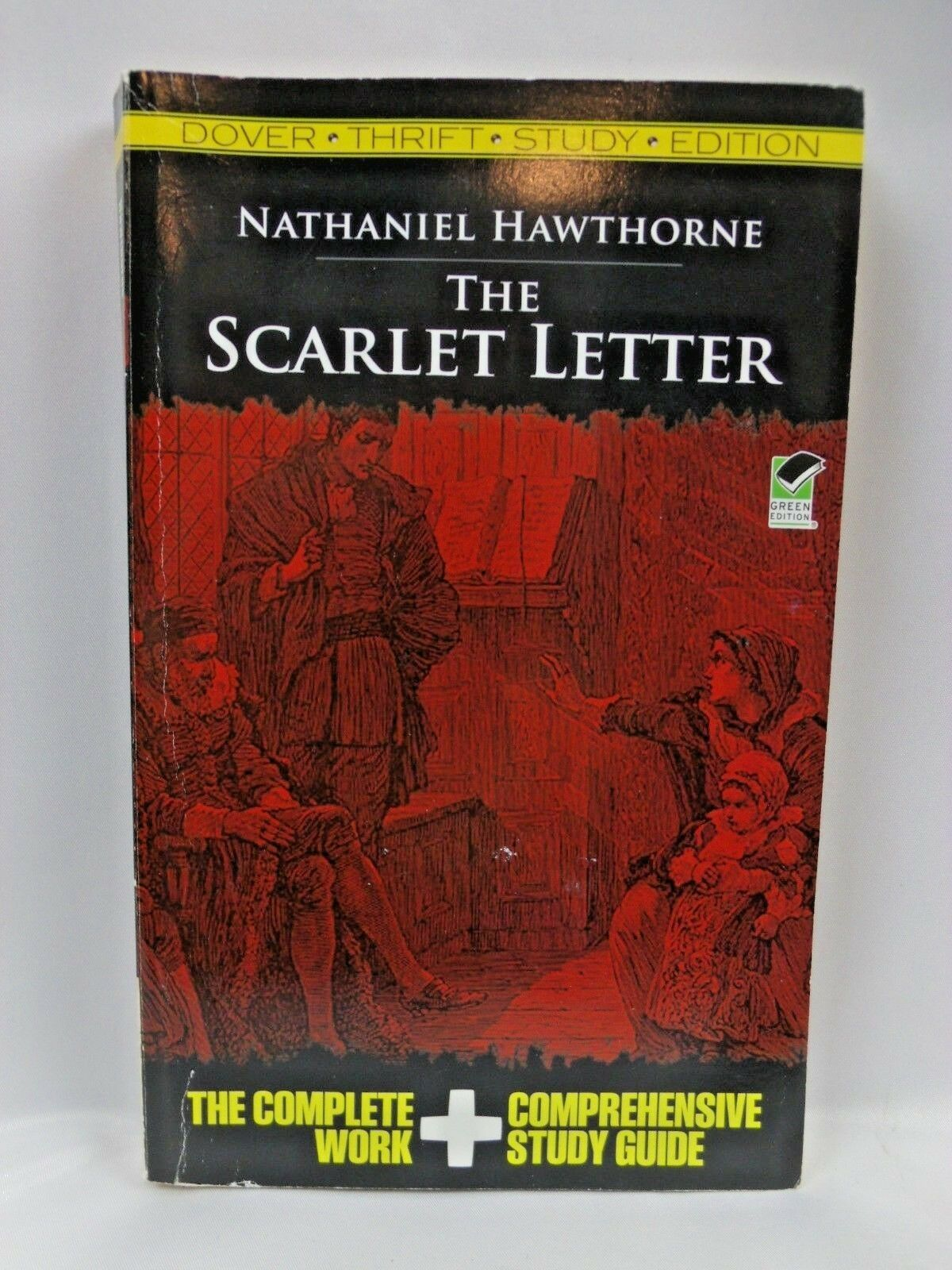 Dover Thrift Study Edition The Scarlet Letter By Nathaniel Hawthorne 2009 Paperback