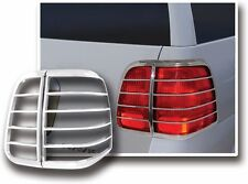 03-06 Lincoln Navigator Triple Chrome Taillight Tail Light Trim Bezel lamp Cover