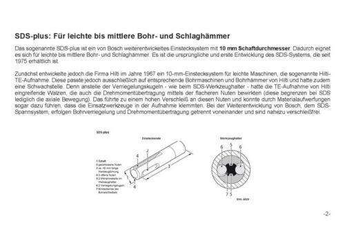 Bohrerset Meißelset 13 tlg SDS PLUS Bohrer Set Meißel Hammerbohrer Kreuzschneide