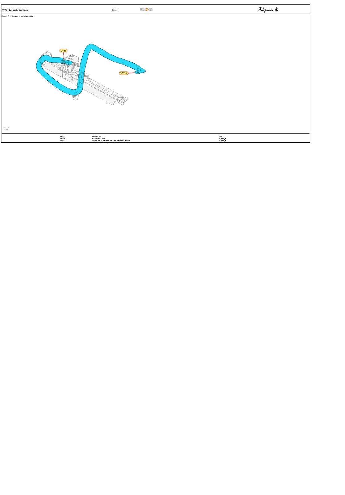 Astonishing California Wiring Diagrams Manual Ferrari Njrhkn6400 Service Wiring Digital Resources Ntnesshebarightsorg