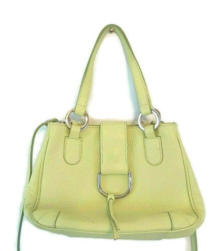 Vintage MINOZZI Italian Genuine Leather Handbag Sh