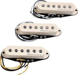 Genuine-Fender-Hot-Noiseless-AGED-WHITE-Stratocaster-Pickup-Set-099-2105-000