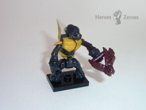Halo Mega Bloks Series 7 Covenant Yellow Grunt with Needler Common