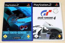 2 PLAYSTATION 2 SPIELE BUNDLE - GRAN TURISMO 4 & CONCEPT 2002 TOKYO GENEVA PS2
