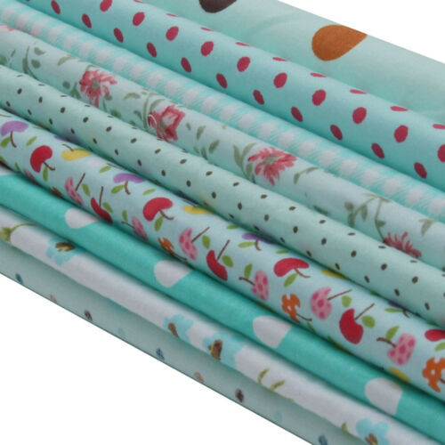 Quilting Patchwork Quilt Cotton Fabric Bundle Trim Sewing Cloth Crafts DIY