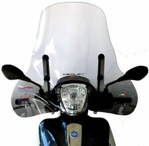 windscreen windshield flyscreen piaggio medley 125 150 kit fitting