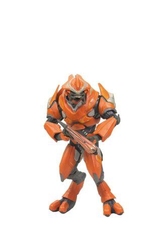 Orange Elite Officer Action Figure Red McFarlane Toys Halo Reach Series 2