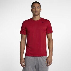 767a1142cc44 New Men s Nike Legend 2.0 Dri-Fit Tee Shirt (718833-687) Gym Red ...
