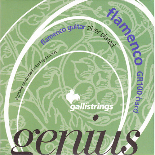 Galli Genius Flamenco GR100 high tension Saiten für Flamencogitarre