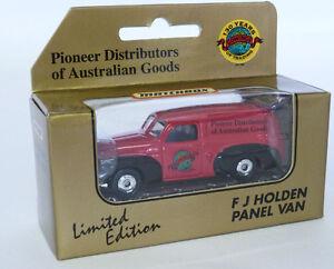 Matchbox-Superfast-mb40-FJ-Holden-Panel-Van-Pioneer-Distributoren-von-australischen