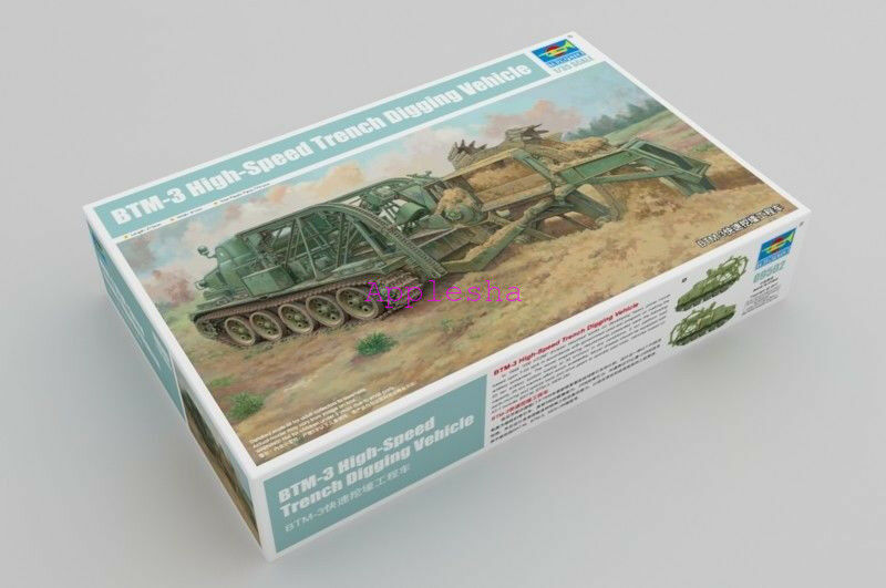 Trumpeter 09502 1 35 BTM-3 High-Speed Trench Digging Vehicle