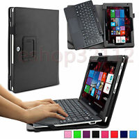 Folio Pu Leather Case Cover For Acer Aspire Switch 10 E Sw3-013 10.1 Tablet Pc