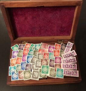 DDR-Dienstmarken-60-nur-verschiedene-Briefmarken-A-B-o-Katalogwert-50