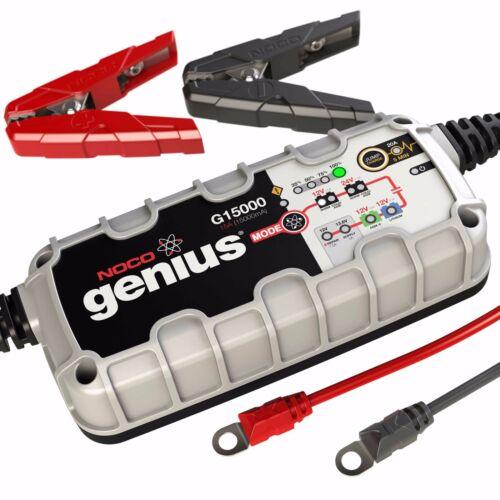 NOCO Genius G15000 12V/24V 15Amp Pro Series UltraSafe Smart Battery Charger