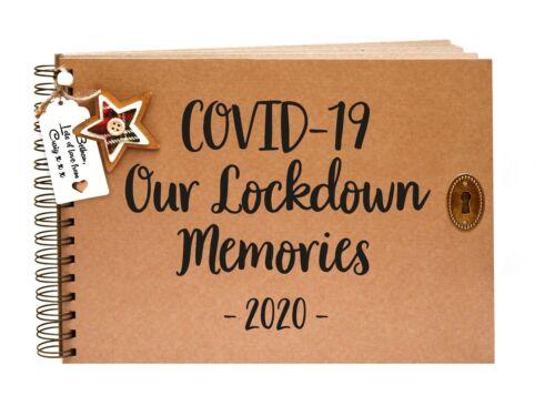 Lockdown Scrapbook Isolation Album Present Virus Gift A5 A4