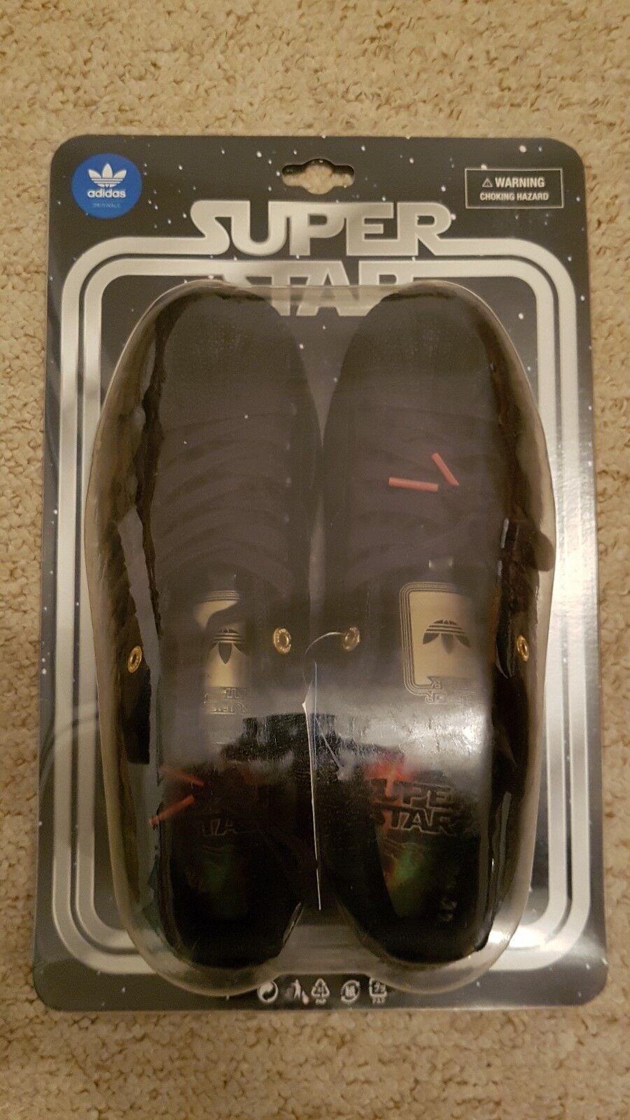 Adidas Superstar Star Wars Darth Vader Ltd Edition SHELL TOE 800 PAIA Originals