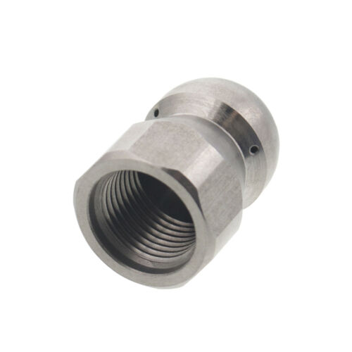 "Erie Tools Button Nose 3//8/"" Sewer Jetter Drain Cleaning Nozzle 10.5 Orifice Size"