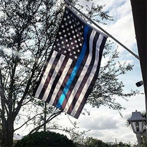 New 3x5/' USA Thin Blue Line Police Lives Matter Law Enforcement American Flag HQ