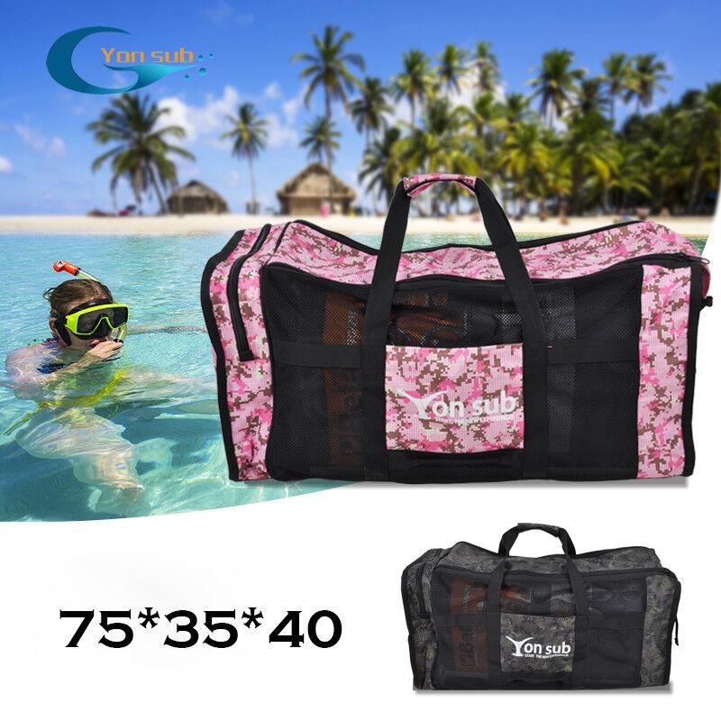 Diving Equipment Bag Deep Dive Snorkeling Equipment Swim Flipper Handbag 105L