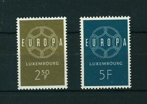 Luxembourg-1959-Europa-full-set-of-stamps-Mint-Sg-659-660