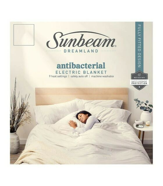 Sunbeam Bl5151 Sleep Perfect Fitted, Sunbeam Sleep Perfect Quilted Electric Blanket Queen Bed Bl5451